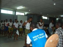 Naija Deaf Got Talent Show