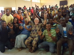 Dr. John David Arnold visits Lagos Deaf Communities