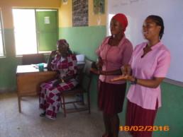 Deaf Girls in School