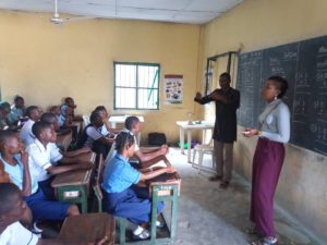 S-DELI outreach to school for the deaf in Port Harcourt 2