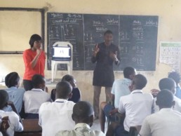 S-DELI outreach to school for the deaf in Port Harcourt