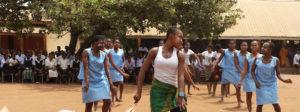 Deaf Girls Dance in Nigeria