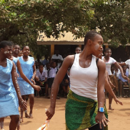 Deaf Girls Dance in Nigeria